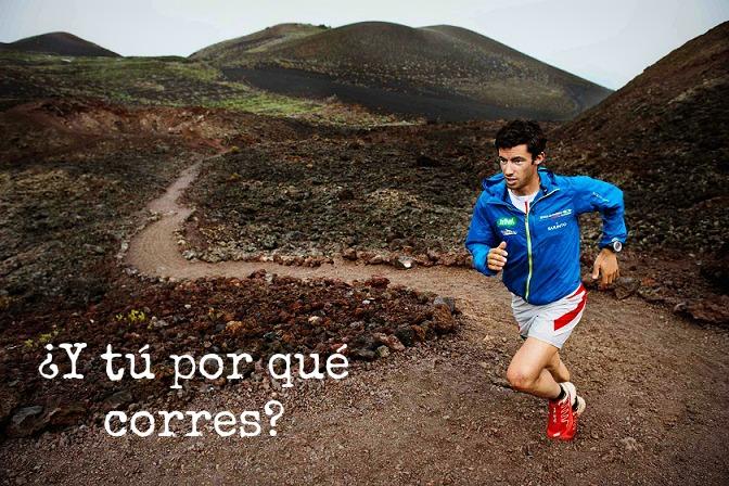 Correr te da lo que los demás te quitan